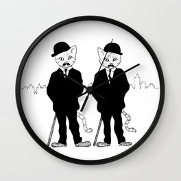 Thomson and Thompson Wall Clock