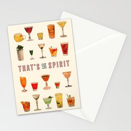 That's the Spirit Stationery Cards