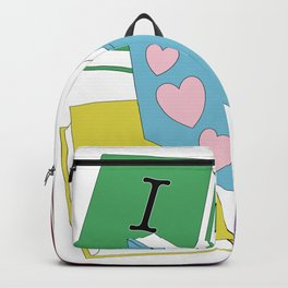 I Love Books Backpack