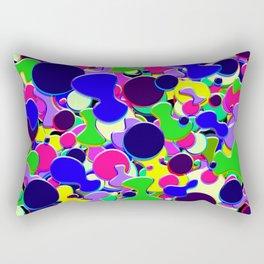 Blob Art: Blob of Blobs Rectangular Pillow