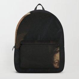 John Singer Sargent - Portrait of Aaron Augustus Healy Backpack
