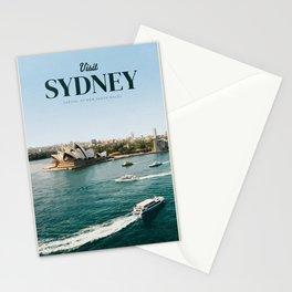 Visit Sydney Stationery Cards