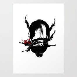 Dead Bug Art Print