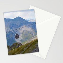 Austria ski lifts Stationery Cards