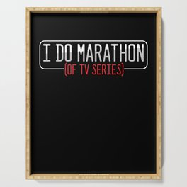 I Do Marathon Of TV Series Television Show Gift Serving Tray