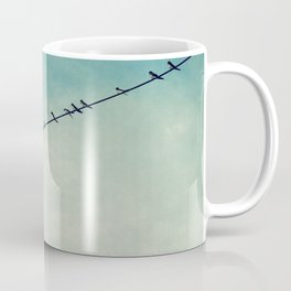 stepping out of line Coffee Mug