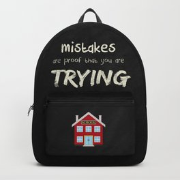 You are trying Backpack