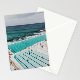 Bondi Icerbergs Stationery Cards