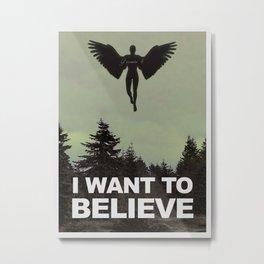 Gen 6 [I Want To Believe] Metal Print