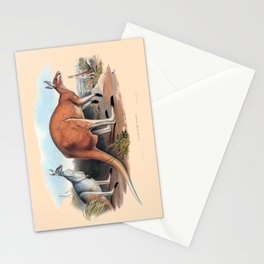 The Red Kangaroo Stationery Cards