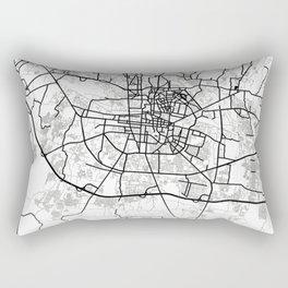 Astana Light City Map Rectangular Pillow