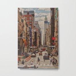 New York Dream Metal Print