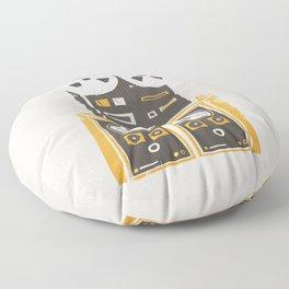 Reel to Reel Player Floor Pillow