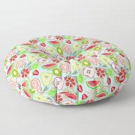 cut fruit Floor Pillow