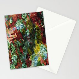 texture paint peeling weathered Stationery Cards