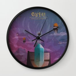 The high Tower Wall Clock