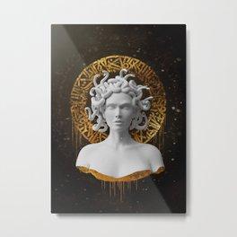 Medusa Aurora Metal Print