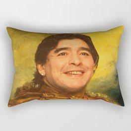 maradona - replace face  Rectangular Pillow