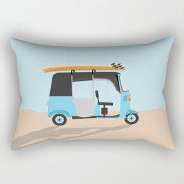 Surf Tuk Tuk in Sri Lanka Rectangular Pillow