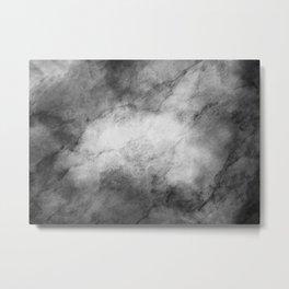 Grunge marble Metal Print