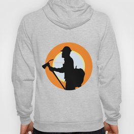 Creative Acre Foundation (CAF) Support poster Hoody