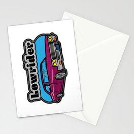 Lowrider Car Stationery Cards