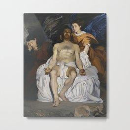 Édouard Manet - Le Christ mort et les anges Metal Print