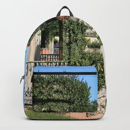 Villa Vizcaya Garden View Backpack