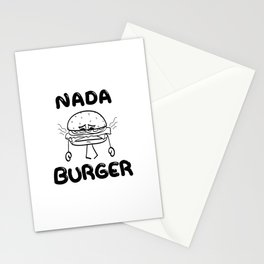 Nada Burger Stationery Cards