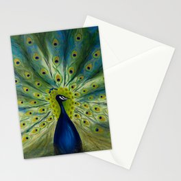 MONSIEUR PEACOCK Stationery Cards