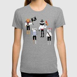 Pirate Cats T-shirt