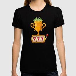 Funny Casino Big Win Slot Machine T-shirt
