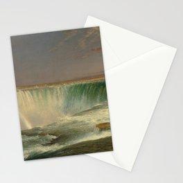 Niagara Falls by Frederic Edwin Church Stationery Cards