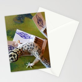 UFO sketch Stationery Cards