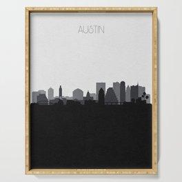 City Skylines: Austin (Alternative) Serving Tray