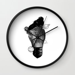 The passion light the soul. Wall Clock
