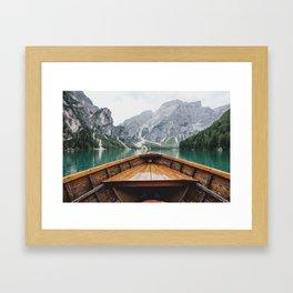 Live the Adventure Gerahmter Kunstdruck