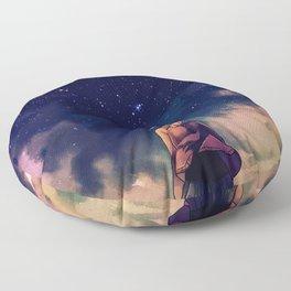 Beyond the Boundary Floor Pillow