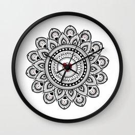 Mandala true love Wall Clock