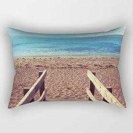 Boardwalk to the Beach Rectangular Pillow