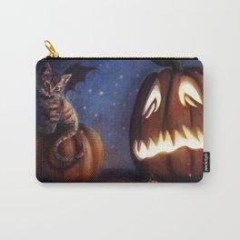 Batty Halloween Carry-All Pouch