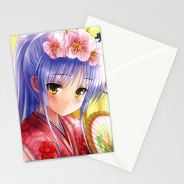 Kanade Tachibana Angel beats Stationery Cards