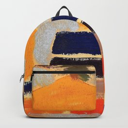 Arthur Garfield Dove - Landscape with Houses - Digital Remastered Edition Backpack