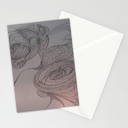 A Surreal View of Niagara Falls  Stationery Cards