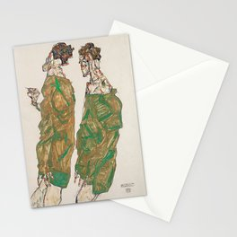 Egon Schiele Devotion Stationery Cards