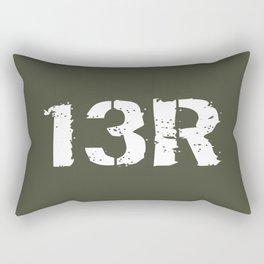 13R Field Artillery Firefinder Radar Operator Rectangular Pillow