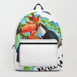 Brasil Watercolor Backpack