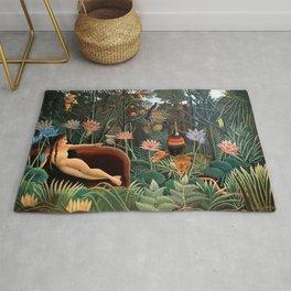 Henri Rousseau - The Dream Rug