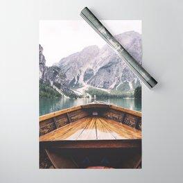 Mountain Lake Wrapping Paper