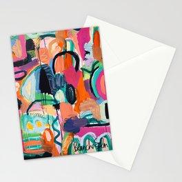 Alien Gossip Stationery Cards